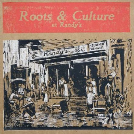 SALE ITEM - Various - Roots & Culture At Randy's (Impact! / Onlyroots) LP